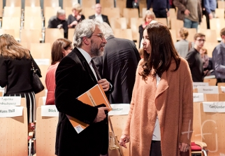 Can Dündar and Dilek Dizdar